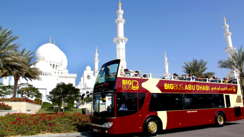 Abu Dhabi Hop-On Hop-Off Bus Tour by Big Bus