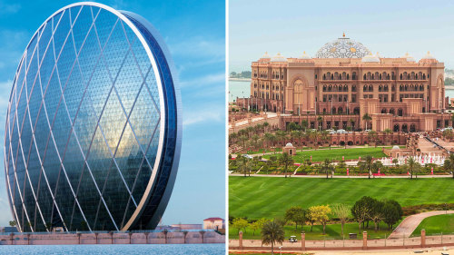 Private City Tour & High Tea at Emirates Palace Combo by Gray Line