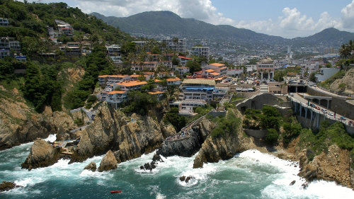 Acapulco City Tour with Cliff Divers