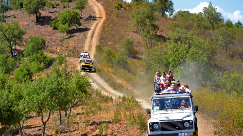 Algarve 4x4 Tour & Aquashow Park Admission