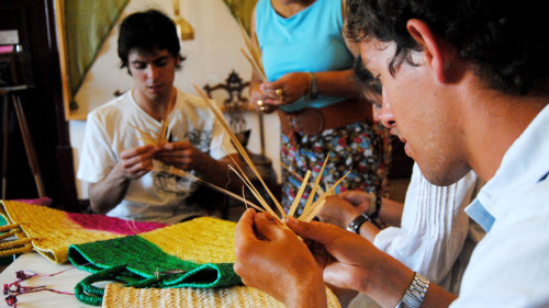 Traditions of Palm Weaving