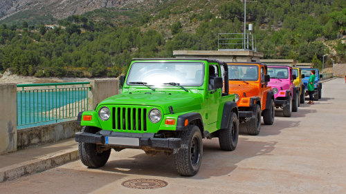 Self-Drive Guided Discovery Safari in Private Jeep