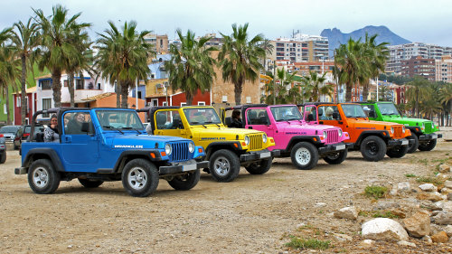 Costa Blanca & Winetasting by Jeep Full-Day Tour
