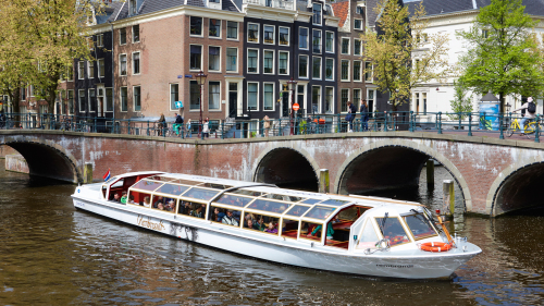 Canal Cruise with Audio Guide by Gray Line Amsterdam