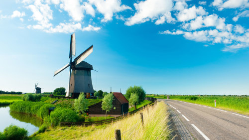 City Walking Tour with Windmills, Marken & Volendam Tour