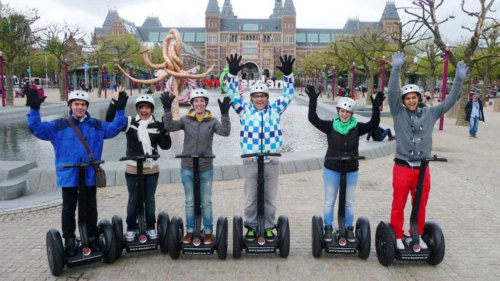 City Sightseeing Segway Tour