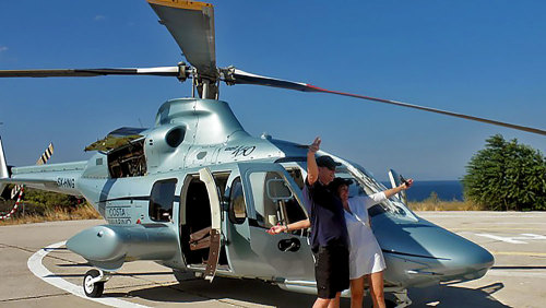 Athens Helicopter Tour