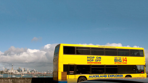 Hop-On Hop-Off Sightseeing Bus
