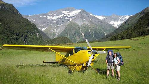 Siberia Valley Adventure with Plane & Jet Boat Ride by Southern Alps Air