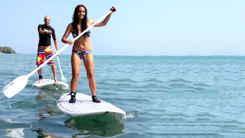 Private Stand-up Paddleboarding Lesson by Rip Curl School of Surf