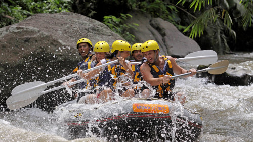 Afternoon Rafting, Spa & Dinner by Bali Adventure Tours