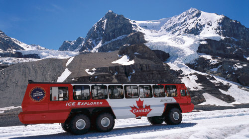 The Icefields Parkway Tour