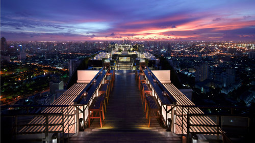 4- or 5-Course Vertigo & Moon Bar Rooftop Dining Experience