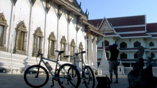 Small-Group Bangkok by Bike Tour by Urban Adventures