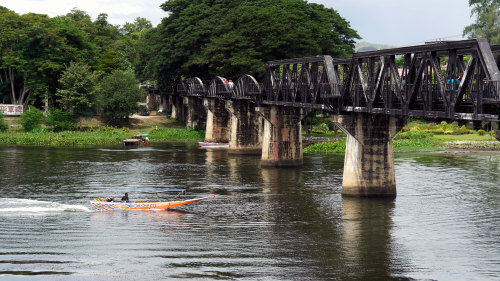Bridge on the River Kwai & Historic Railway Tour by Tour East Thailand