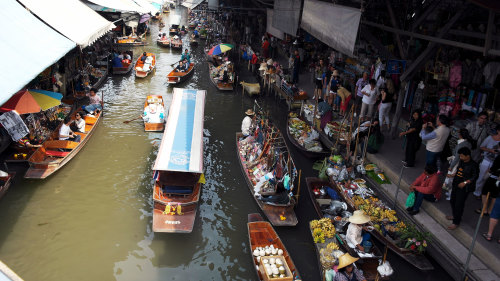Damnoen Saduak Floating Market Tour by Tour East Thailand