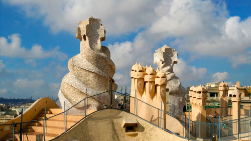 Skip-the-Line: La Pedrera with Audio Guide