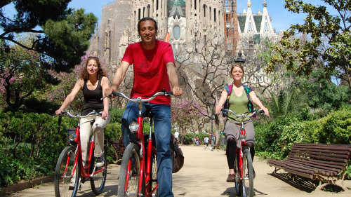 City Bike Tour with Spanish Tapas
