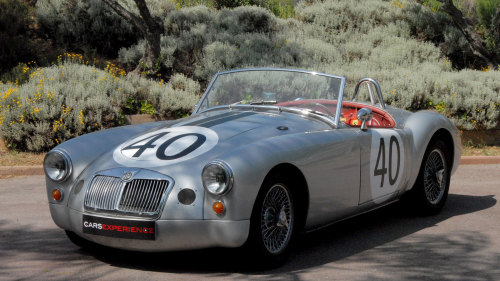MG MGA Convertible Driving Experience