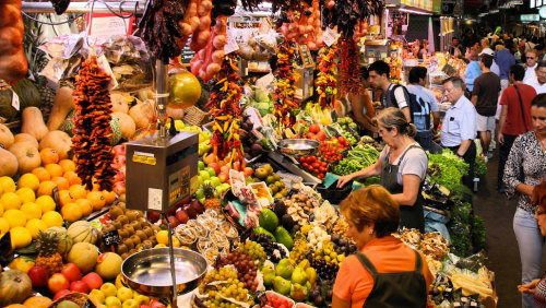 La Boqueria & Santa Caterina Markets Private Walking Tour