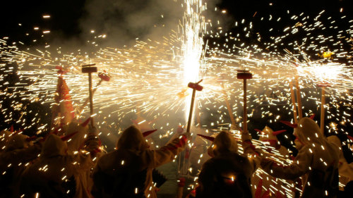 Correfoc Evening Festival by Living It Tours