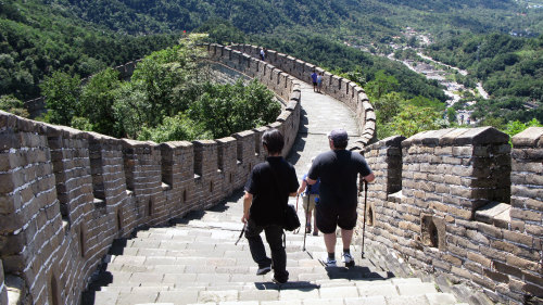 Great Wall of China at Juyongguan Pass & Jiuhua Spa Day Tour