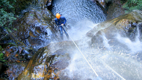 Abseiling & Canyoning Tour by River Deep Mountain High