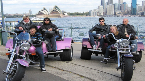 City Sights & Bondi Chopper Tour by Wild Ride Australia