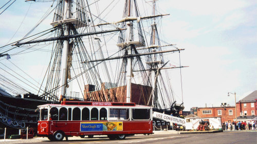 Beantown Trolley Hop-On Hop-Off Tour & Harbor Cruise