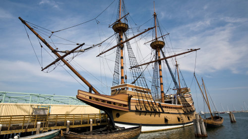 Guided Excursion to Plimoth Plantation & Mayflower II