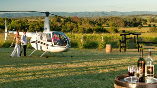 Indulgence Helicopter Wine Tour by Pterodactyl Helicopters