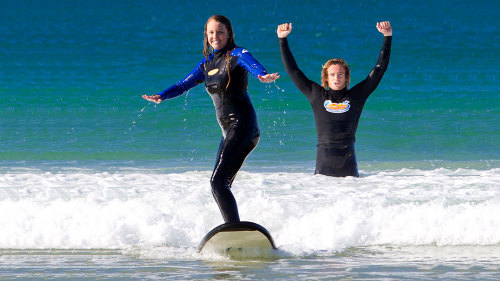 Noosa Surfing Lesson by Go Ride a Wave