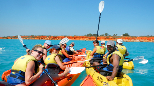 Sea Turtle Kayak Adventure by Broome Adventure