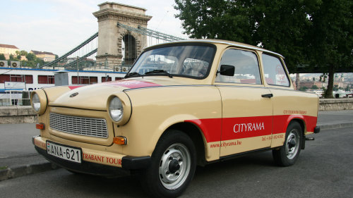 Private Sightseeing Tour by a Trabant Car
