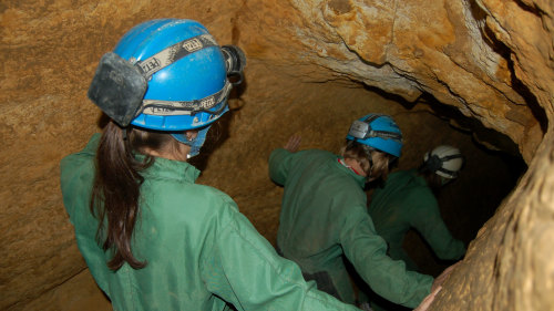 Small-Group Caving Tour