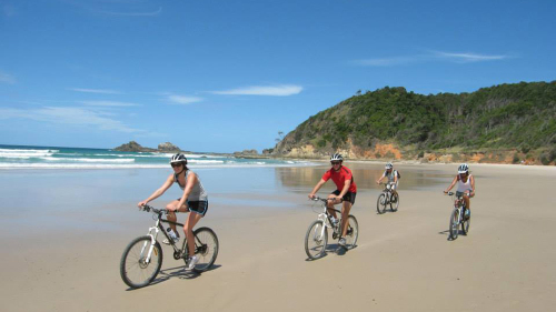 Scenic Coastal Bike Tour by Mountain Bike Tours