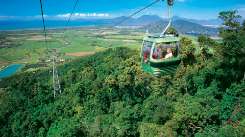 Kuranda Train, Skyrail & Reef Snorkel Combo Tour