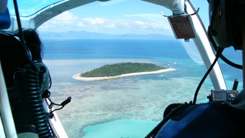 Green Island Scenic Helicopter Flight by GBR Helicopters