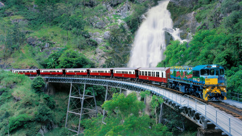 Kuranda Scenic Railway Train Ride