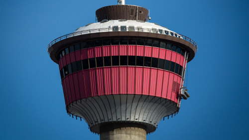 Calgary Tower Observation Deck