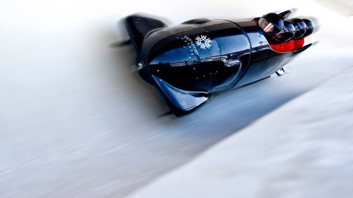 Winsport Summer Bobsled Ride with Professional Driver