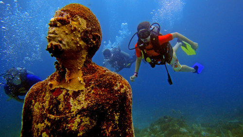 MUSA Underwater Museum Diving Experience