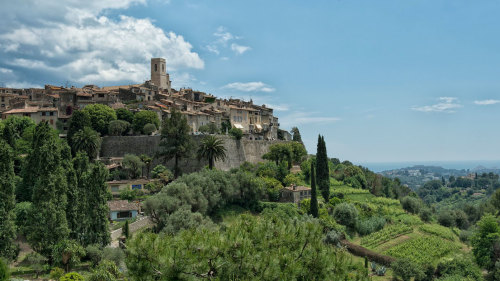 Cannes, Antibes & St Paul de Vence Half-Day Tour