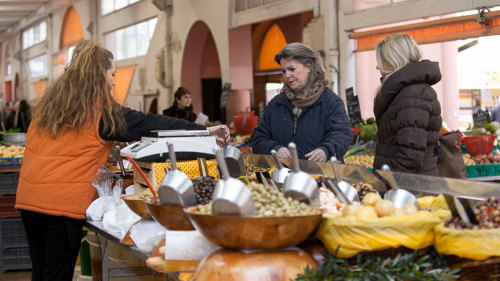Provencal Market Shopping & Cooking Class in Cannes