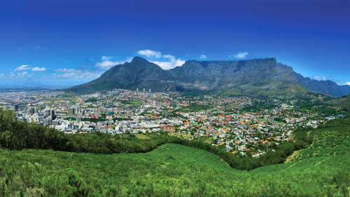 City Center & Table Mountain Half-Day Tour