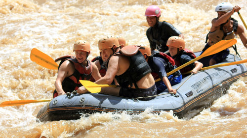 Scenic Chiang Mai Bike & Raft Adventure by SpiceRoads Cycle Tours