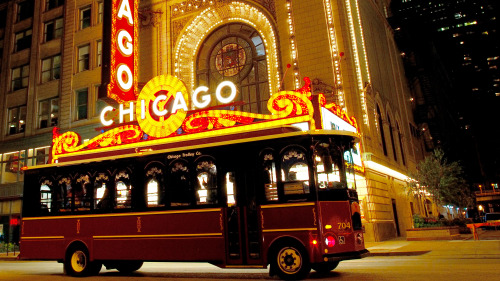 Hop-On Hop-Off City Tour by Chicago Trolley & Double Decker