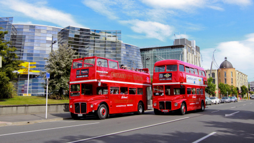 Discover Christchurch Double Decker City Tour