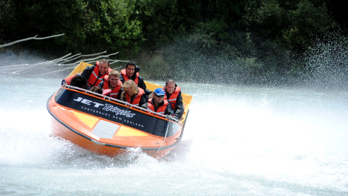 Jet Boat Tour of Waimakariri River by Canterbury Leisure Tours