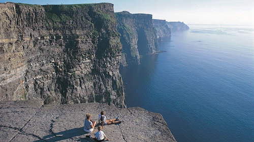 Cliffs of Moher, The Burren & Galway Bay by Railtours Ireland First Class